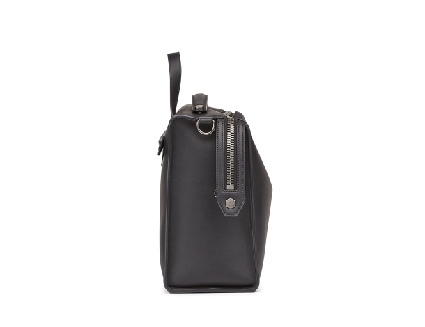 芬迪 Fendi LUI男士手袋 长方形黑色小牛皮手提包7VA400_O7B_F0KCV