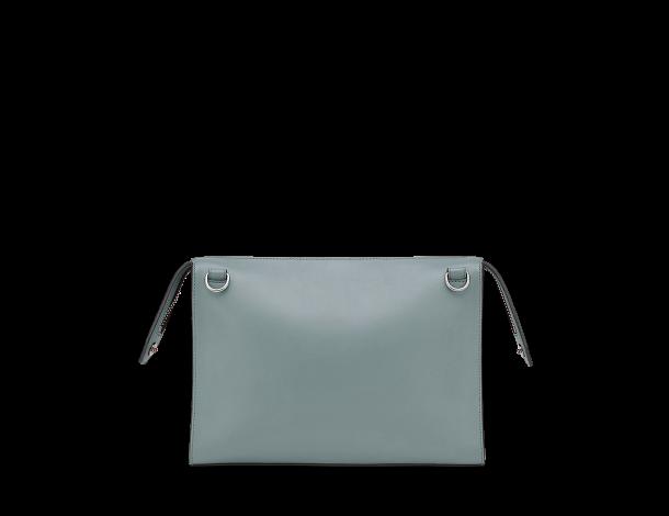 芬迪 Fendi LUI男士手袋 光滑绿色皮革公文包7VA407_O7B_F07T8