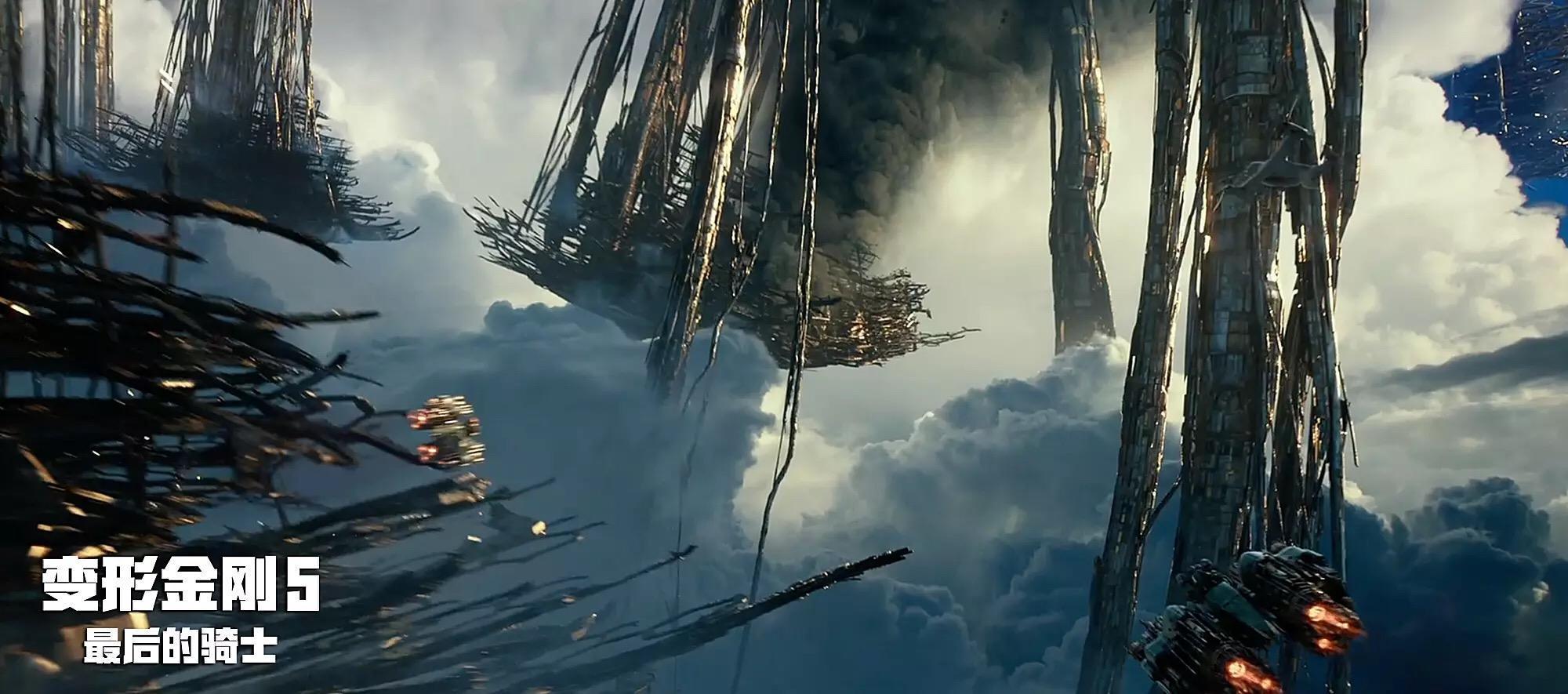 再曝最新《变形金刚5:最后的骑士》imax 3d海报剧照 威震天霸气威武