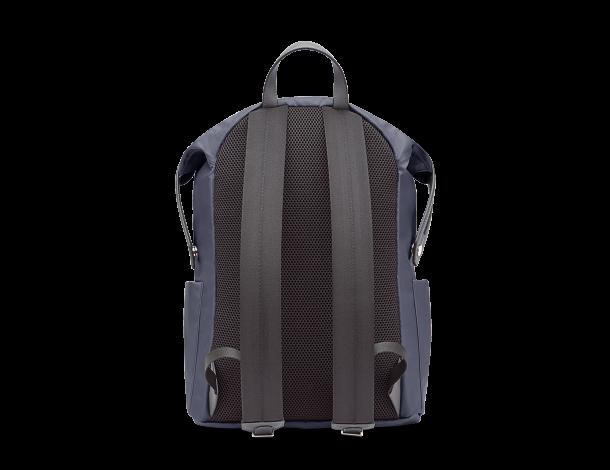 芬迪Fendi 蓝色尼龙和皮革双肩背包7VZ035_6OD_F0KR1