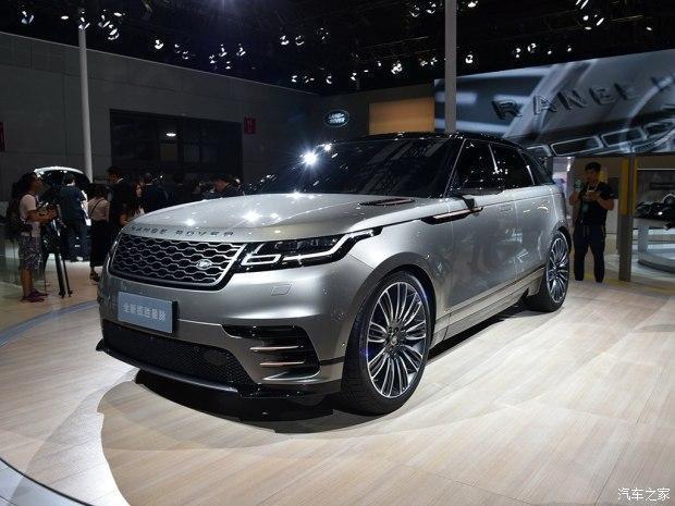 成都车展路虎正式公布旗下全新SUV 揽胜星脉 预售价格70-100万元