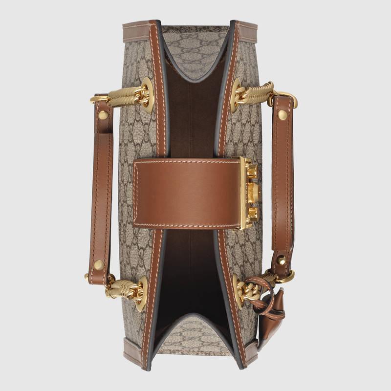 Gucci古驰 Padlock系列小号GG肩背包 498156 KHNKG 8534