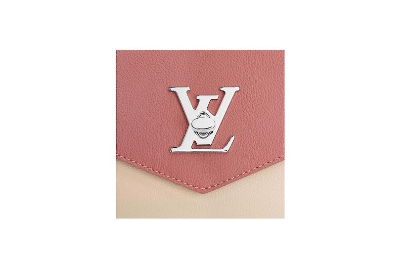 路易威登 LV MYLOCKME 手袋 M51490 玫瑰红色