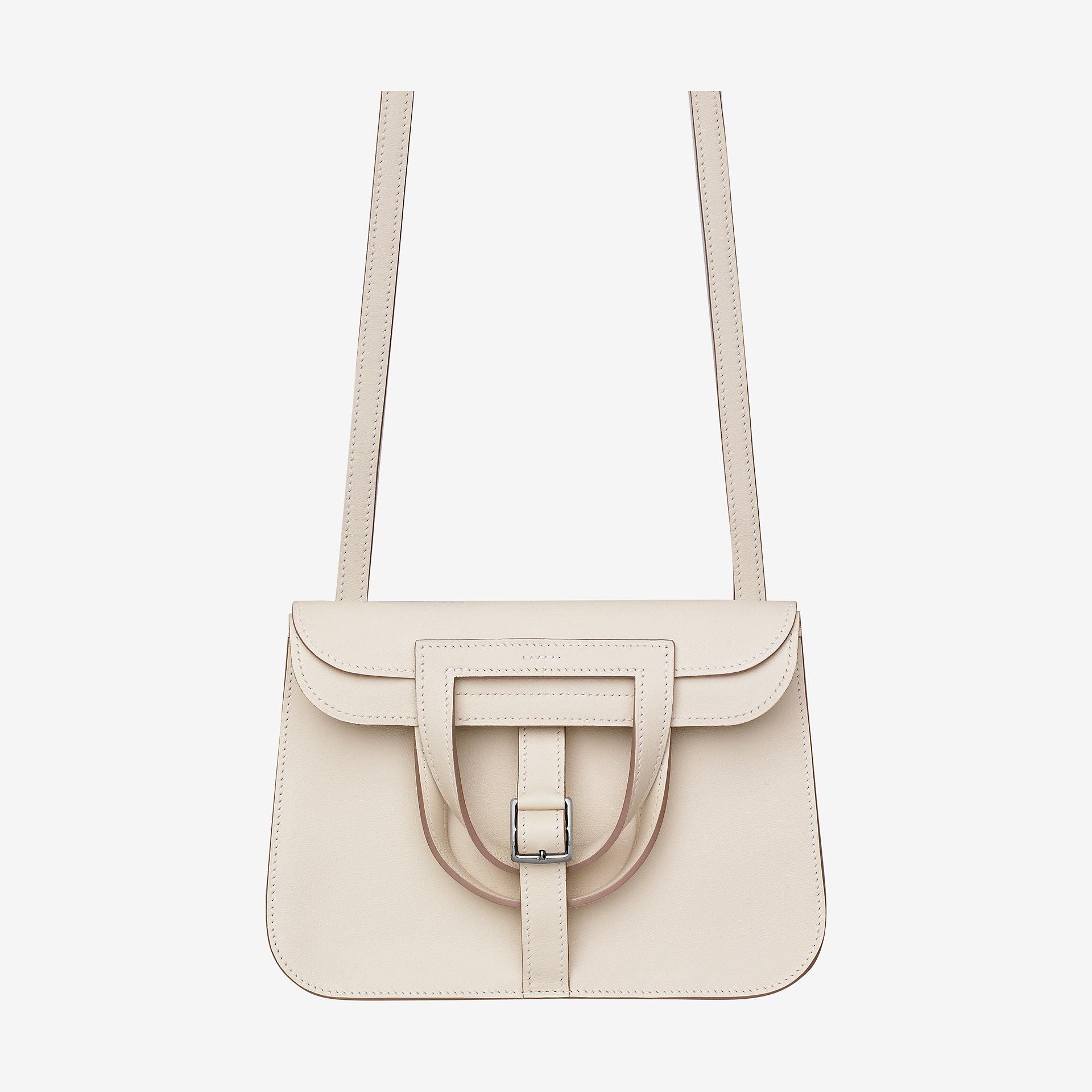 爱马仕迷你手提craie Swift小牛皮 Hermes Halzan mini bag