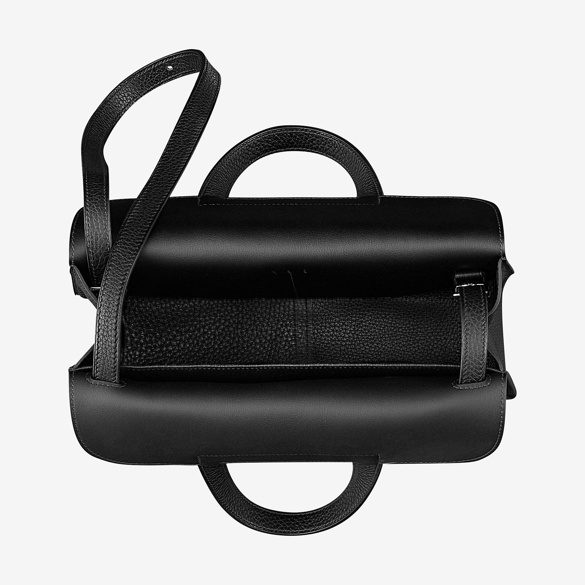 爱马仕Hermes Halzan 31cm bag Clemence小公牛皮手提包