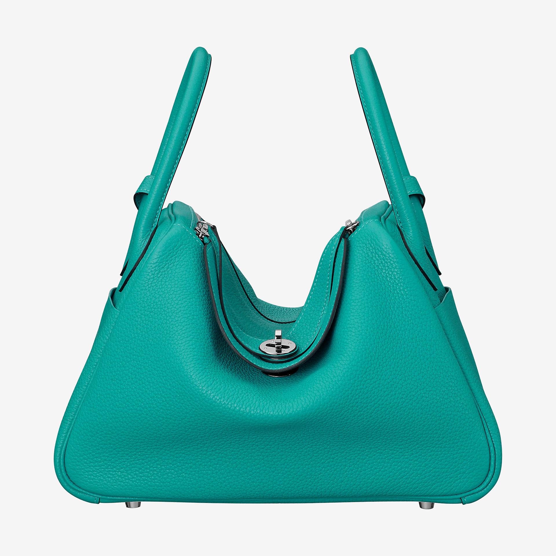 爱马仕琳迪包定制 Hermes Lindy 30cm bag CK7F taurillon Clemence leather