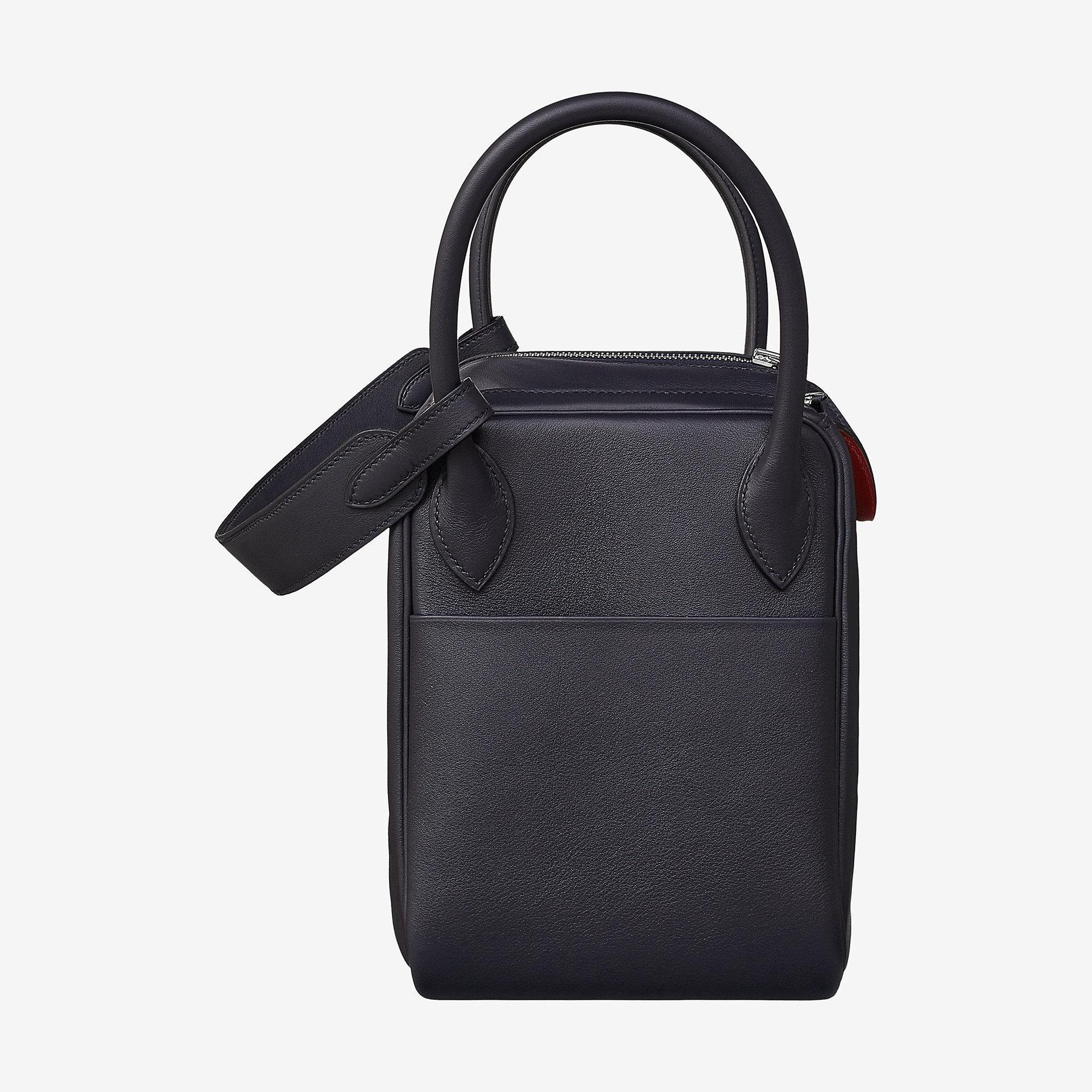 爱马仕琳迪包 被人称为是最具名媛风范的包袋 黑色 Swift calfskin