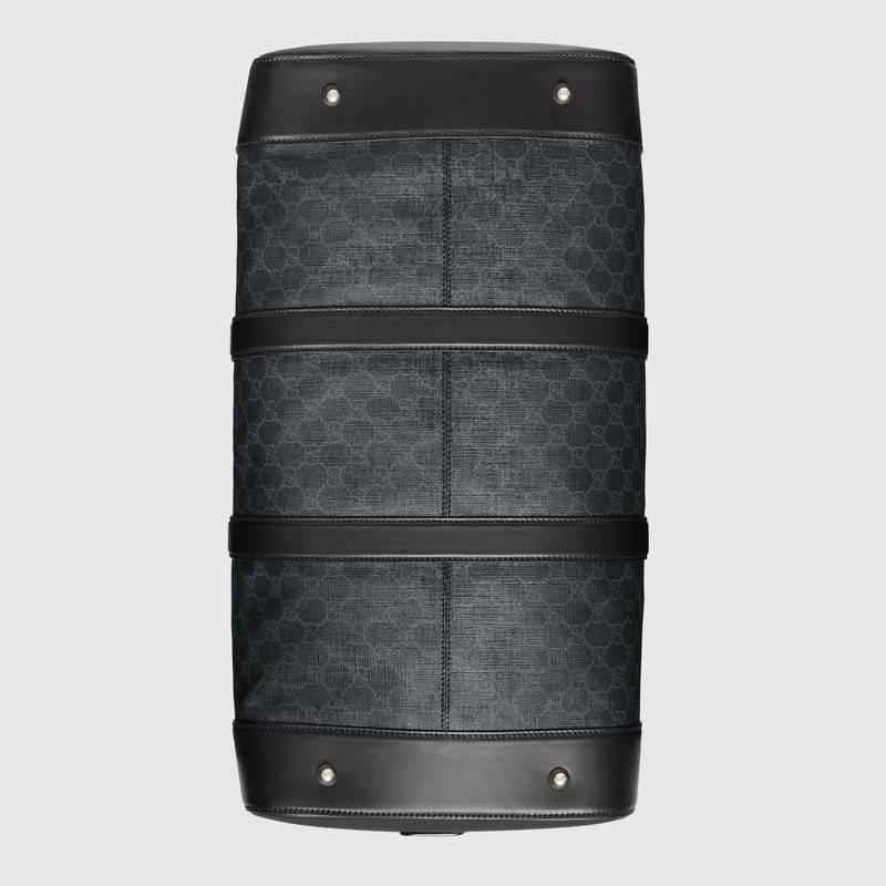 Gucci 柔软GG Supreme高级人造帆布行李袋 474131 K5IAN 1095