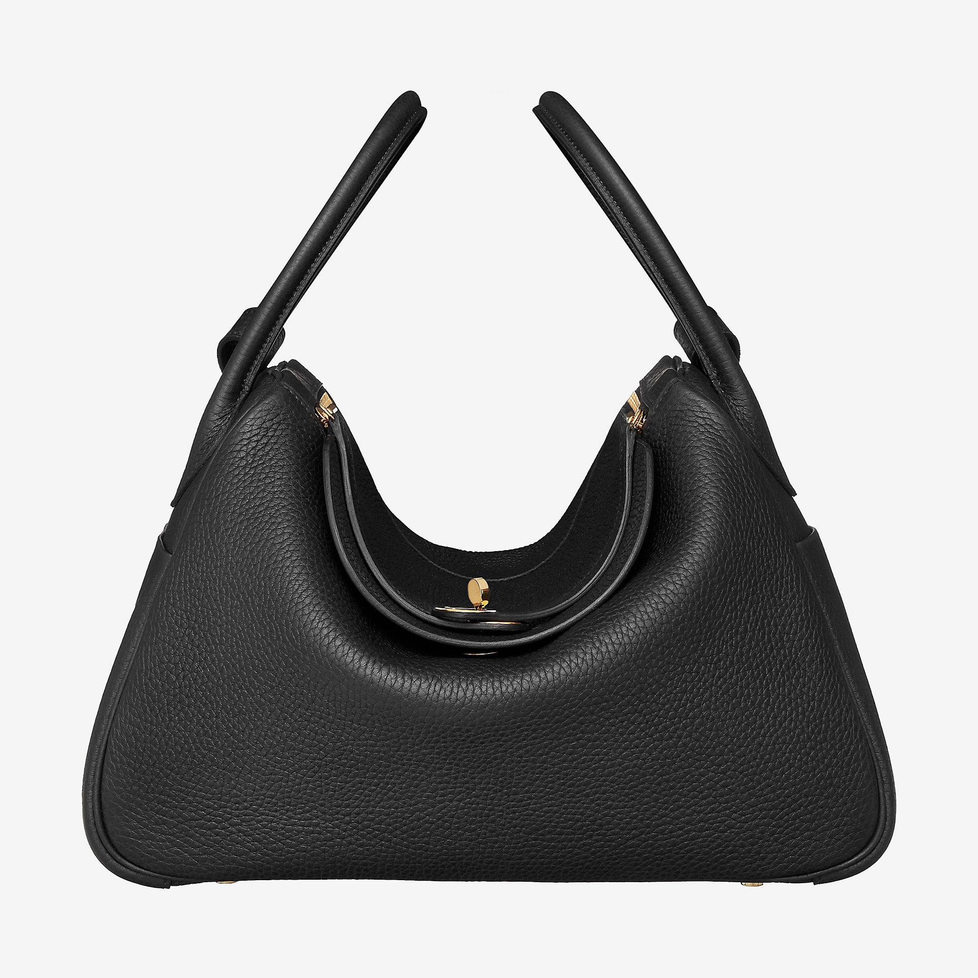 爱马仕官网中文官网 Hermes Lindy 34cm bag CC89 taurillon Clemence leather